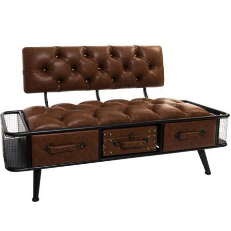divanetto ecopelle divanetto vintage ecopelle con cassetti arredamento