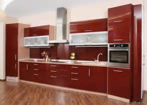 Red Kitchen Cabinets by Top Interior Design Red Kitchen Cabinets