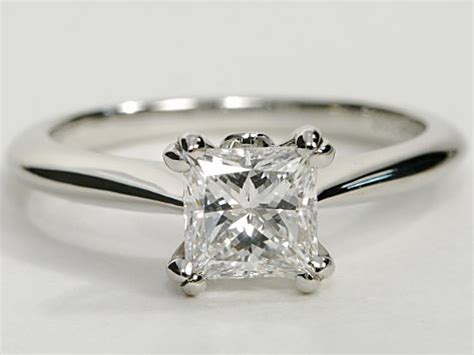 platinum princess cut engagement ring engagement ring wall