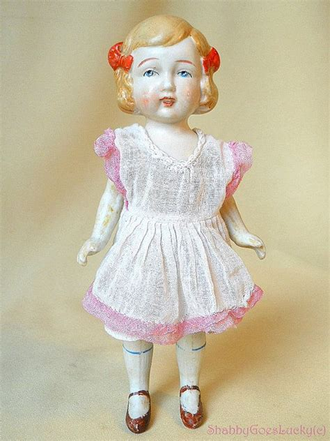 1930s bisque doll antique japan vintage 1930s all bisque porcelain flapper