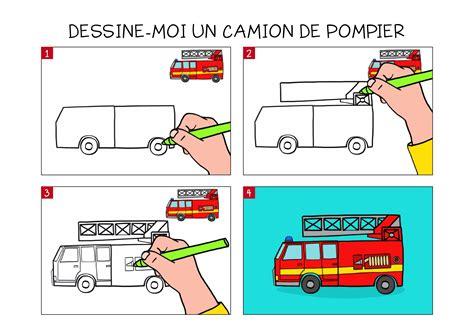 Apprendre 224 Dessiner Un Camion De Pompier En 3 233 Tapes