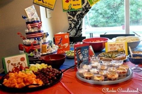 Dr Seuss Baby Shower Food Ideas by Dr Seuss Baby Shower And Ideas