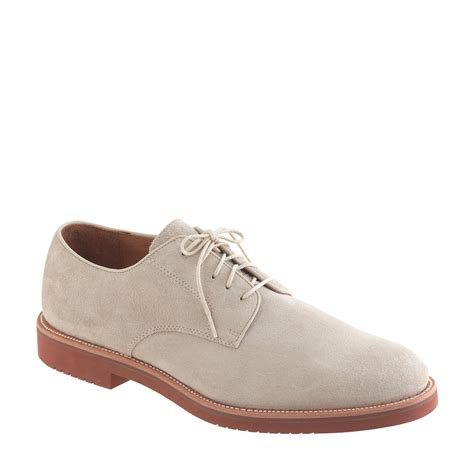 bucks shoes j crew kenton suede bucks in for lyst