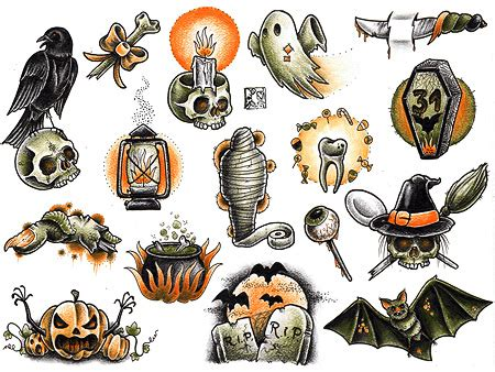 small scary tattoos 365 days of i think the o lantern with