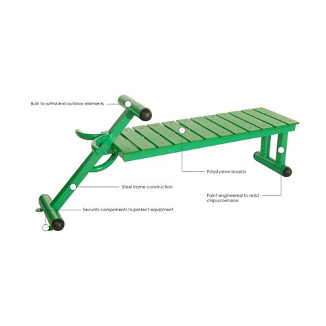 stamina bench stamina 174 outdoor fitness bench stamina products
