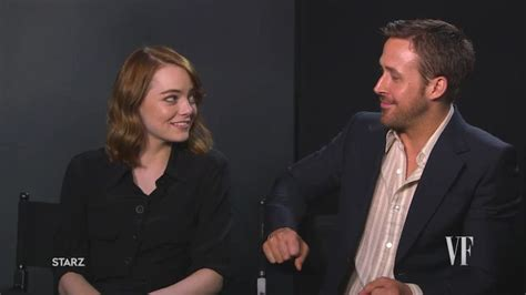 emma stone ryan gosling interview watch toronto international film festival emma stone and