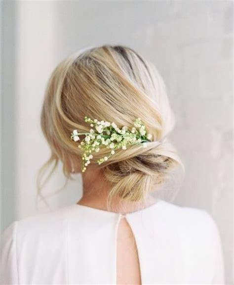 Wedding Hair Casual Updo by 27 Casual Wedding Hair Ideas Happywedd