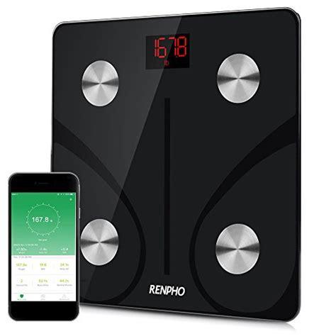 Eatsmart Bathroom Scale Renpho Bluetooth Body Fat Scale Fda Approved Smart
