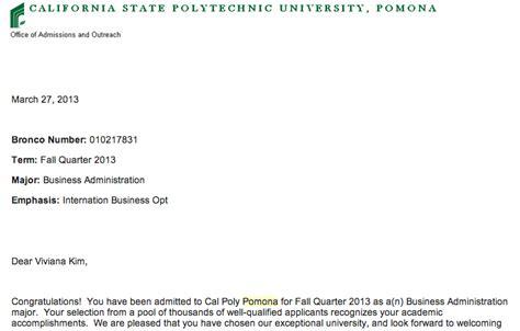 Pomona College Acceptance Letter Cal Poly Pomona Viviana S Graduate Portfolio 2012 2013