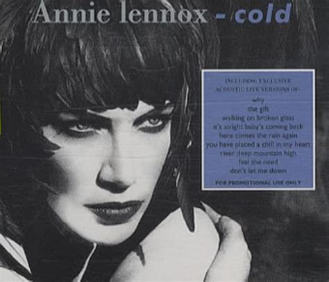 Lennox Is Back With A New Album by Lennox Cold Uk Promo Cd Album Cdlp 15441