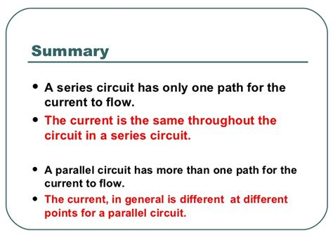 information about electricity and circuits electric circuits ppt slides