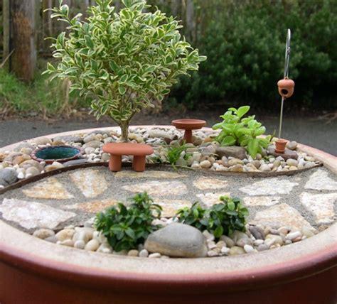 miniature rock garden kleine g 228 rten gestalten miniatur projekte mit viel fantasie