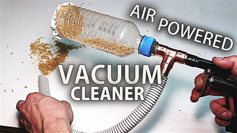 compressed air powered fans how to an air powered mini vacuum cleaner venturi
