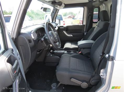 Jk Interiors by Black Interior 2012 Jeep Wrangler Unlimited Mopar