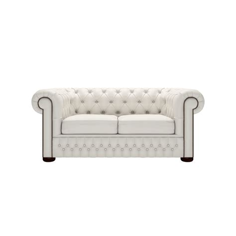 White Chesterfield Sofa Chesterfield 2 Seater Sofa In Shelly White From Sofas By Saxon Uk