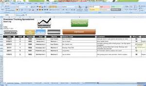 Downtime Analysis Template by Image Gallery Machine Downtime Log Sheet