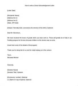 31 acknowledgement letter templates free sles