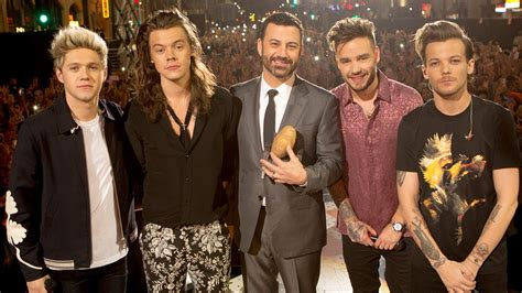 jimmy kimmel introduces on a stump one news page jimmy kimmel introduces one direction s newest