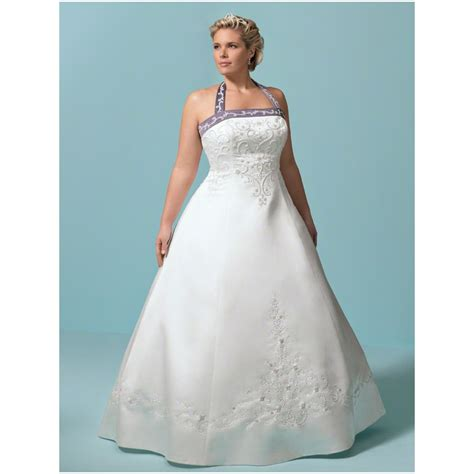 Plu Size Wedding Dresses by Plus Size Wedding Dresses With Purple Dresses Trend