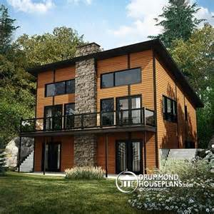 Ski Chalet House Plans by House Plan W3969 Detail From Drummondhouseplans Com