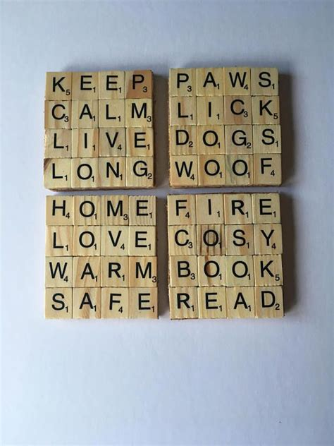 jo a word in scrabble top 25 best scrabble coasters ideas on