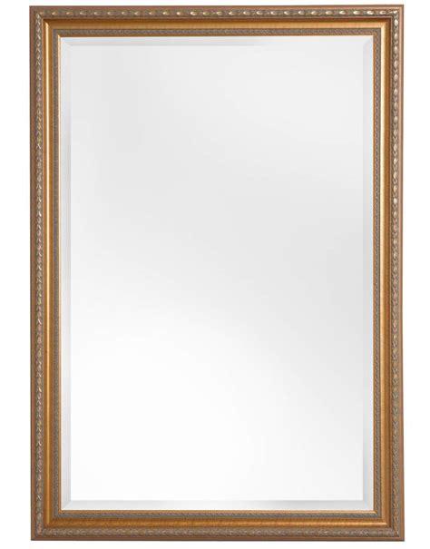 Glasschiebetür Mit Rahmen by Spiegel Mit Goldenem Barock Rahmen Kunstspiegel De
