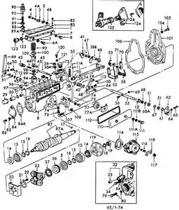 Ford tractor fuel injection pump d0nn9a543j cav3233f380 ford tractor