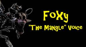 Fnaf 2 toy foxy mangle voice youtube
