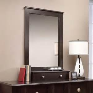 Buy sauder embassy point dresser and mirror in wind oak in cheap price