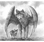Winged Wolves By Aragornbird On DeviantArt