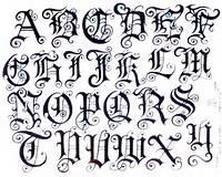 Ideas Para Tu Tattoo Alfabeto Gótico