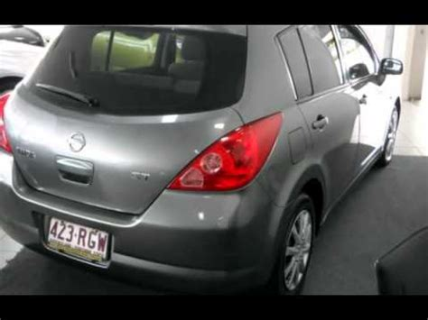 nissan tiida 2008 hatchback 2008 nissan tiida grey automatic hatchback youtube