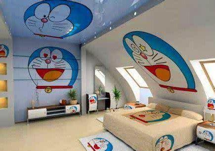 wallpaper dinding kamar doraemon 7 gambar wallpaper dinding kamar tidur anak motif doraemon