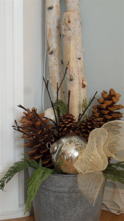 using a birch branch tree for a christmas tree favorite redo power style