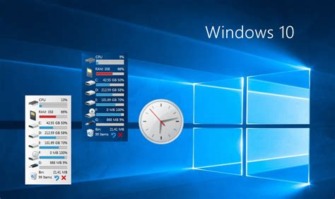 clock themes for windows 10 windows 10 gadgets by alexgal23 on deviantart