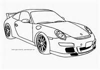 Free Printable Coloring Page Of A Porsche 911 GT3 Supercar Top Speed