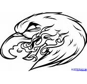How To Draw An Eagle Tattoo Step By Tattoos Pop