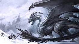 Ice Dragon Concept Art