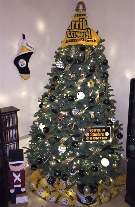 images of a steelers christmas tree 17 best images about steeler nation rise on football pittsburgh steelers