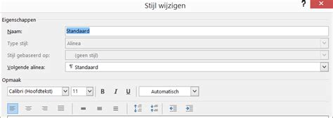 layout word aanpassen nieuwe stijlen aanpassen of maken in word office
