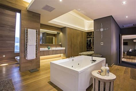 modern bathrooms south africa simplicity meets sophistication in terraced outside living