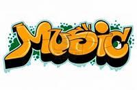Graffiti Word Music