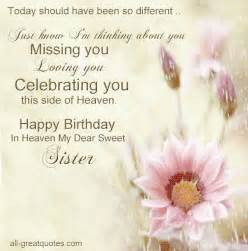happy birthday in heaven quotes for facebook quotesgram