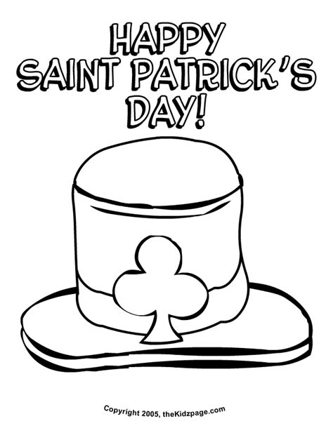 free coloring book pages s day st patricks day images free az coloring pages