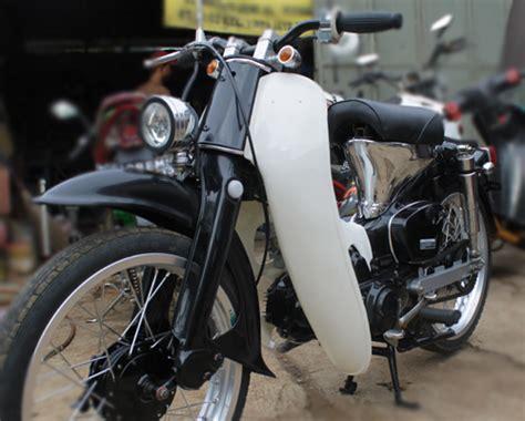 Sein Depan Kanankiri Honda C70 honda c70 pispot custom classic anti mogok