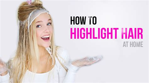 how to do highlights at home how to do caramel