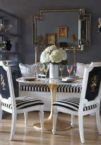 Gold Dining Room Chairs by Simple Details Ikea Docksta Table