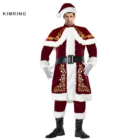 aliexpress com buy kimring deluxe santa claus christmas