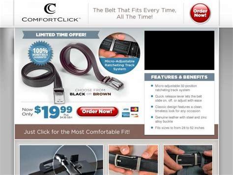 comfort click comfort click belt reviews too good to be true