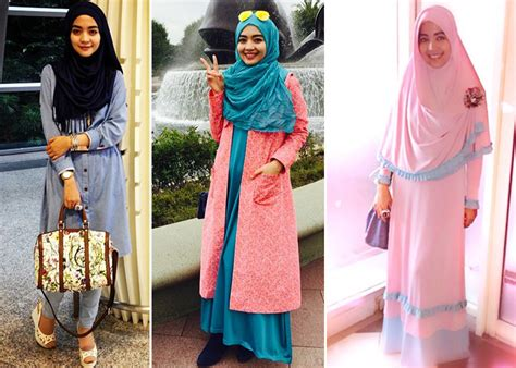 Baju Muslim Nuri Maulida kintakun tips mix and match busana muslim cantik ala nuri maulida